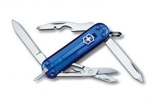 Couteau suisse Victorinox Manager bleu translucide 58mm 10 fonctions