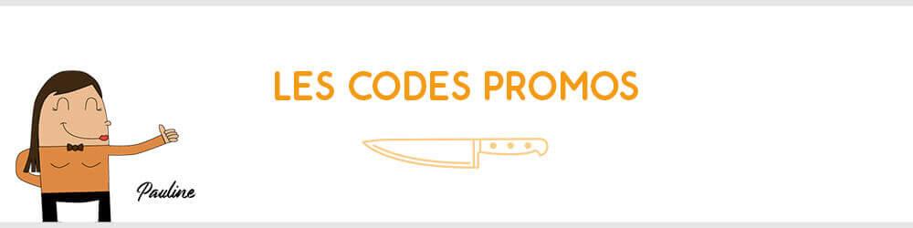 Tous les codes promos en cours sur Couteauxduchef.com
