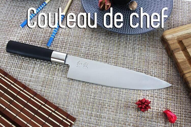 Les couteaux de chef de notre site