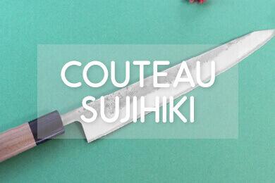 Optez pour un couteau japonais sujihiki!
