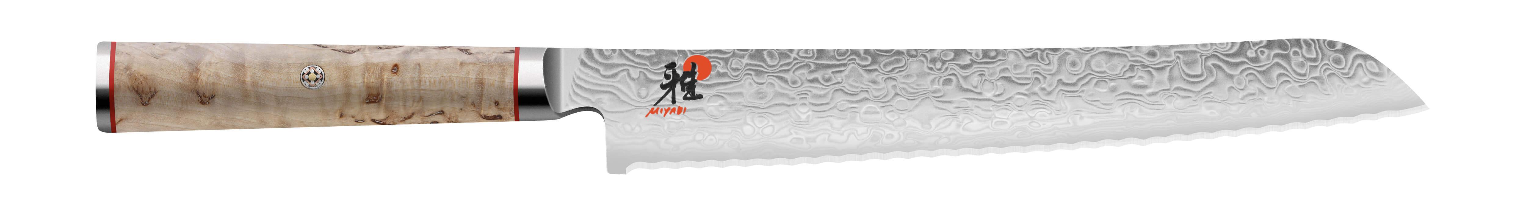 La gamme de couteaux 500MCD de Miyabi comprend des couteaux design et de qualité. Ceux ci possèdent une dureté de 63 HRC.