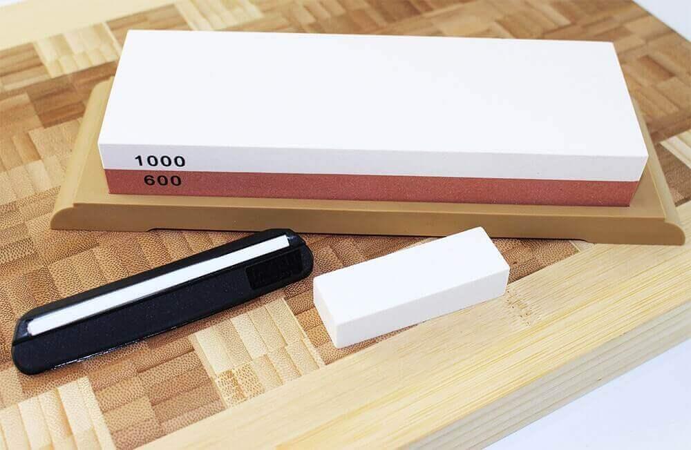 Pierre Abrasive Affûtage Aiguiseur Affûteur Aiguisoir Couteau Ciseaux #240//800