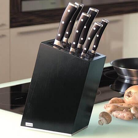 Optez pour un beau bloc couteaux vide !