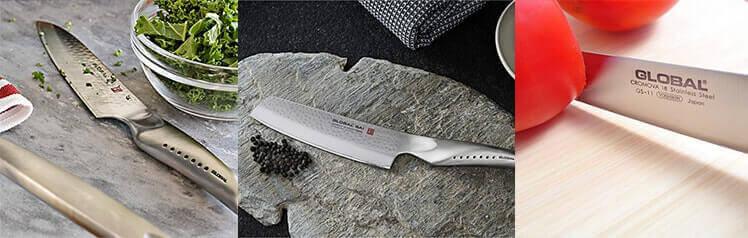 Les couteaux japonais GLOBAL sont parfaits pour les chefs et les particuliers !