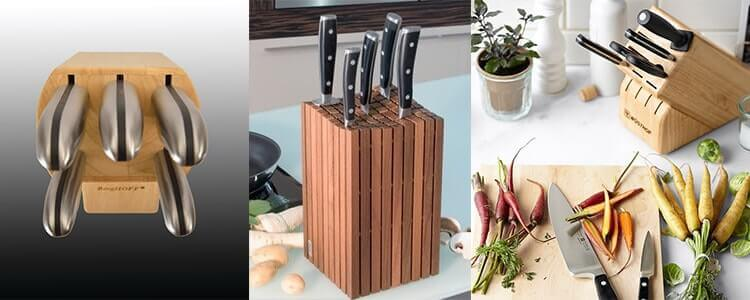 Des blocs de couteaux de cuisine modernes et designs !