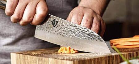 Optez pour un beau couteau santoku !