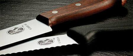 Couteaux professionnels dans votre matériel