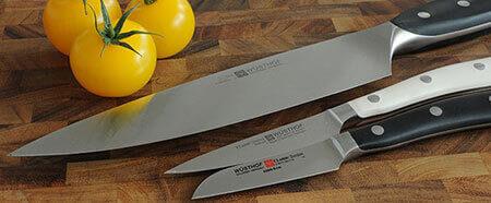 Un large choix de couteaux Wusthof !
