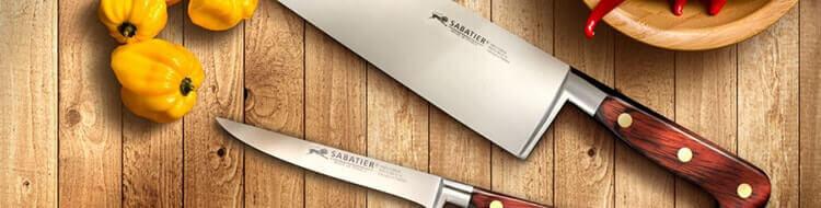 Les magnifiques couteaux Saveur de chez SABATIER !