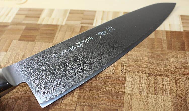 Couteau damassé :  le meilleur du Japon