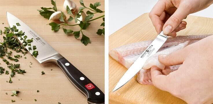 Des couteaux WUSTHOF CLASSIC dans votre cuisine !
