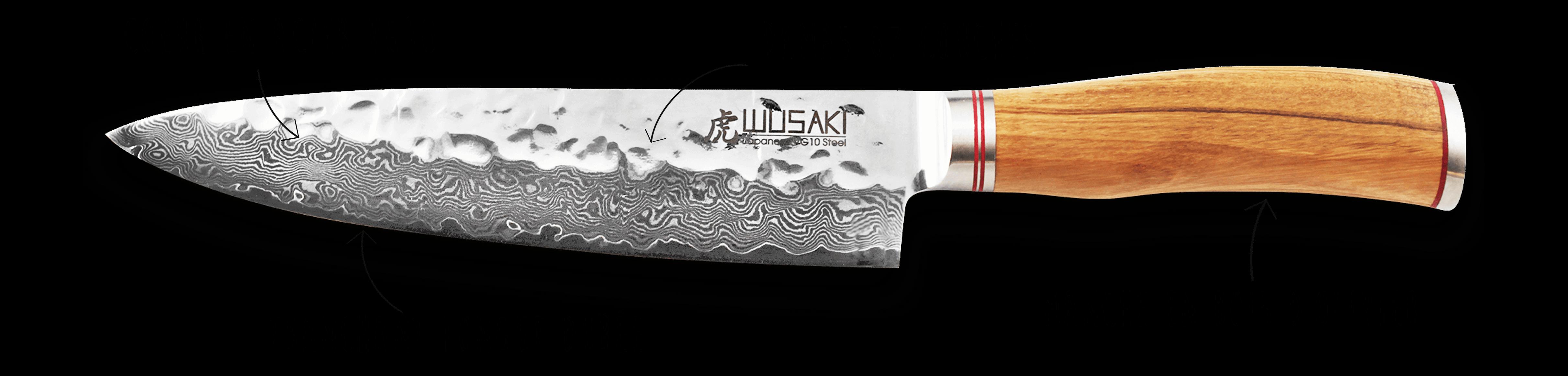 Découvrez le couteau Wusaki