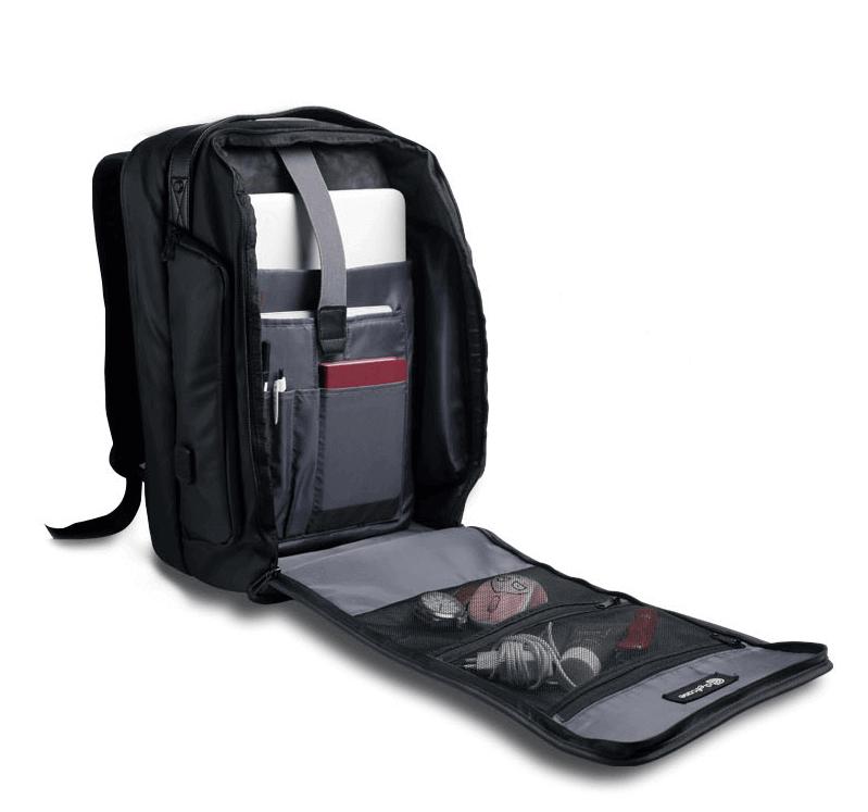 Intérieur sac à dos pour cuisinier CHEFCASE avec rangements