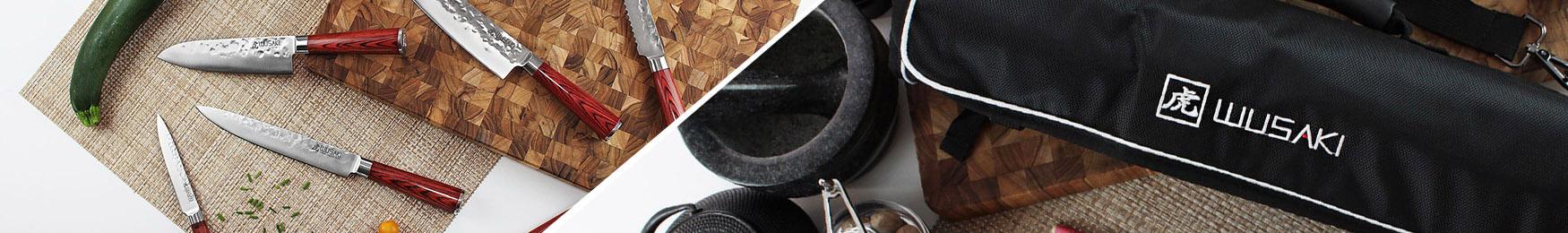 Mallette Wusaki Pakka X50 Pakkawood 5 couteaux