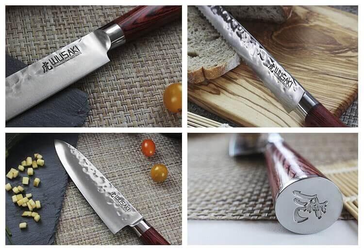 Couteaux Wusaki Pakka X50
