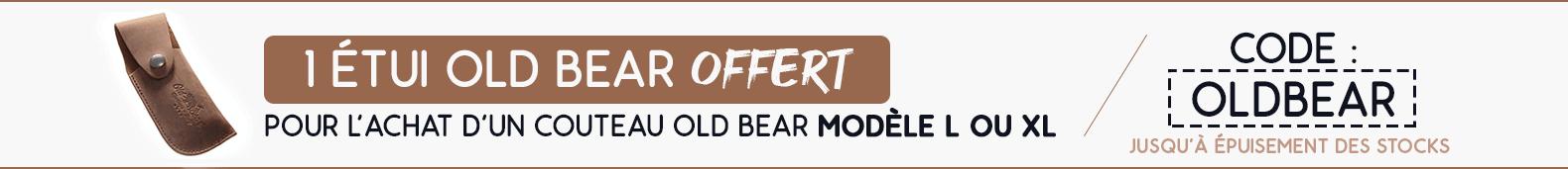 Offre Old Bear étui offert