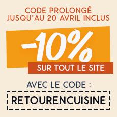 Code promo de -10% sur Couteauxduchef