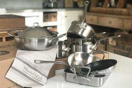 Ustensiles de cuisson Mauviel