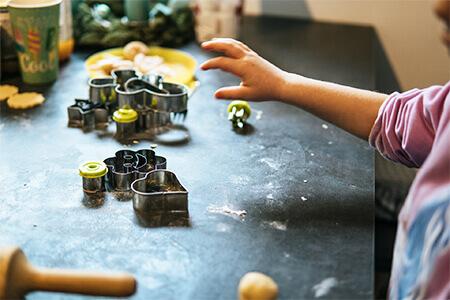 Ustensiles pâtisserie enfant