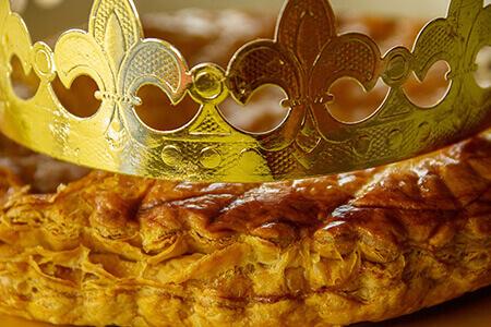 Fève et couronne des rois